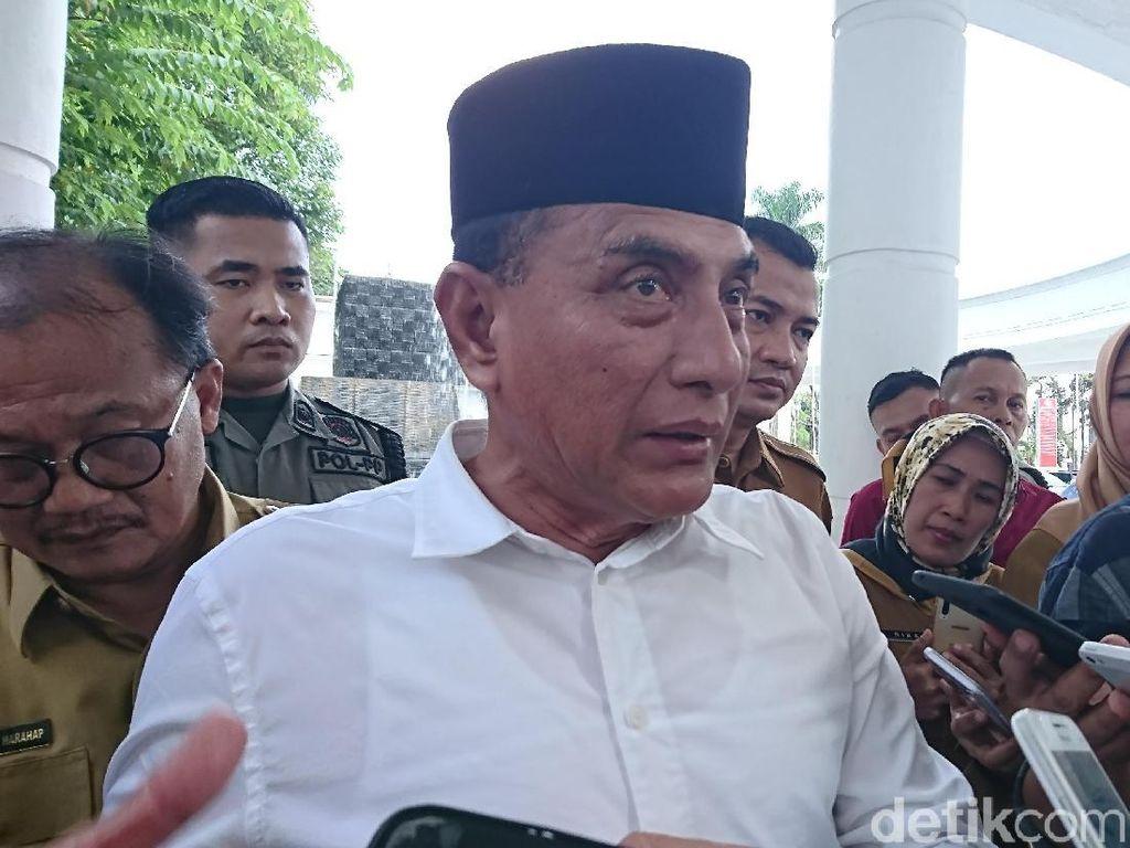 Gubsu Edy Kesal Banyak Sok Dokter Gegara Corona: Jadi Habis Jahe!