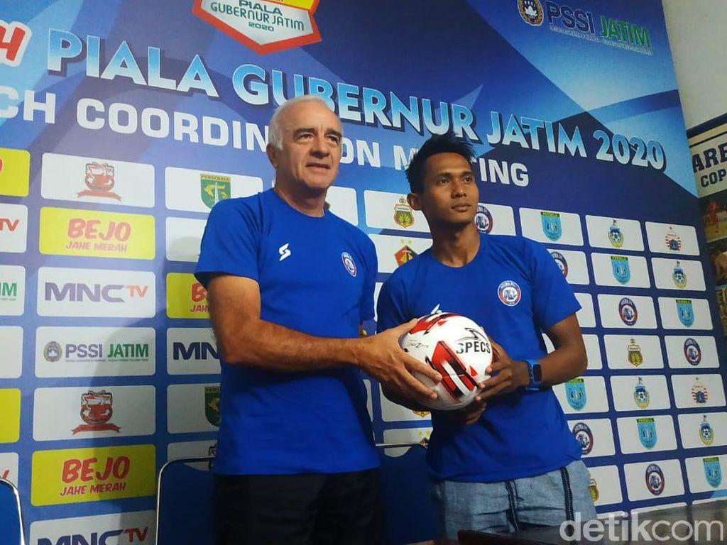 Arema FC Ingin Konsisten Sejak Piala Gubernur Jatim