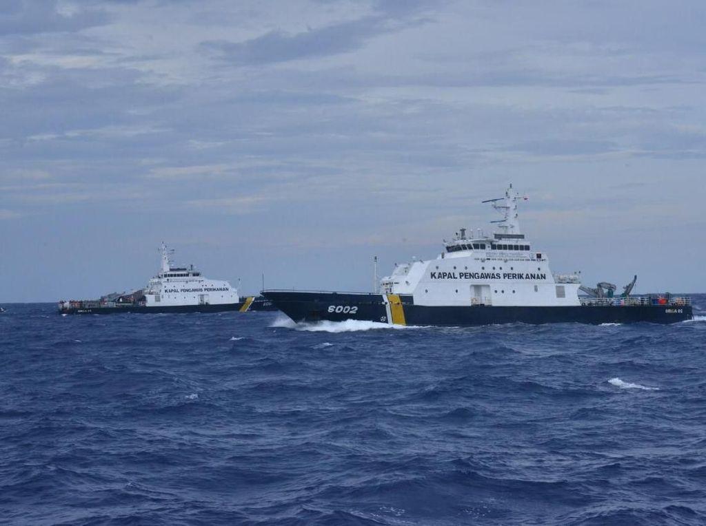 Perkuat Pengawasan, KKP Tambah 2 Kapal di Natuna Utara & Selat Malaka