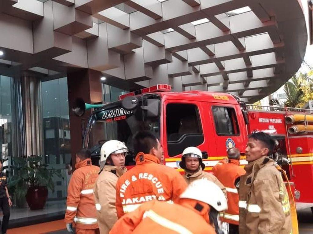 Kebakaran Terjadi di Ruang Server Graha Inti Fauzi Buncit, Jaksel