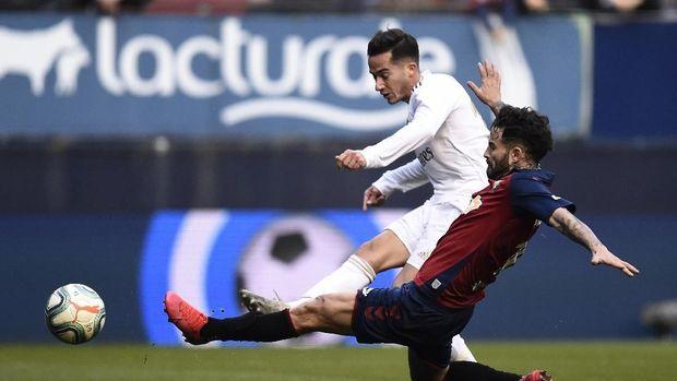 Osasuna Vs Real Madrid: Comeback, El Real Menang 4-1