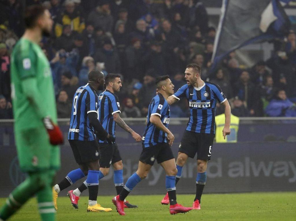 Nyaris Dibantai, Inter Malah Balik Membantai Milan