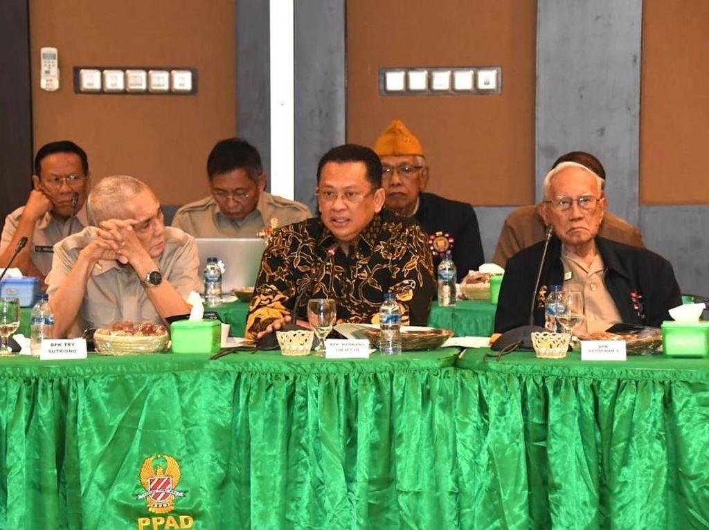 Ketua MPR Puji Purnawirawan yang Masih Semangat Jaga Bangsa & Negara
