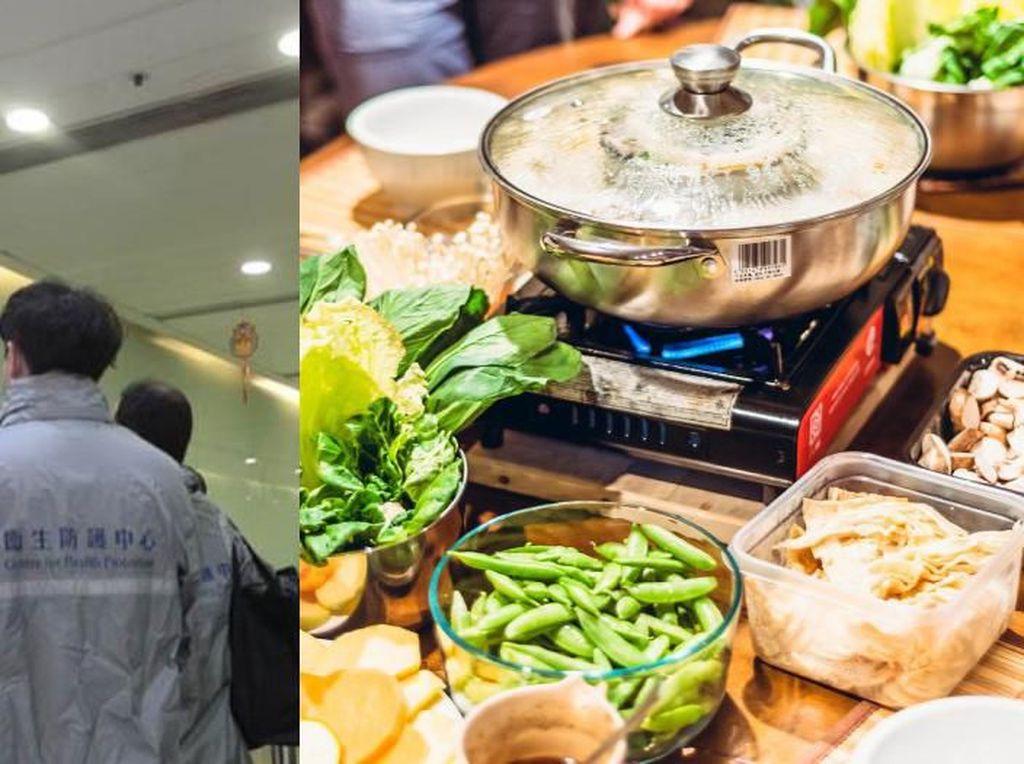 Duh! 9 Anggota Keluarga Ini Terinfeksi Virus Corona Setelah Makan Hot Pot & BBQ Bareng