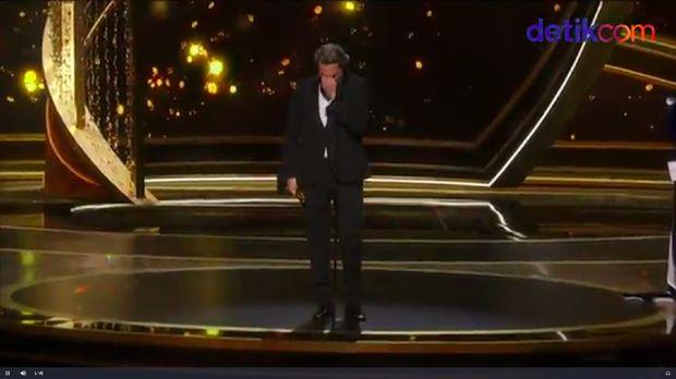 Joaquin Phoenix menangkan trofi Oscar 2020