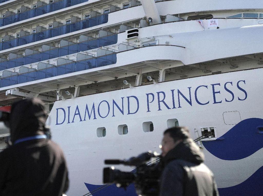 Italia Akan Evakuasi Warga dari Kapal Pesiar yang Dikarantina di Jepang