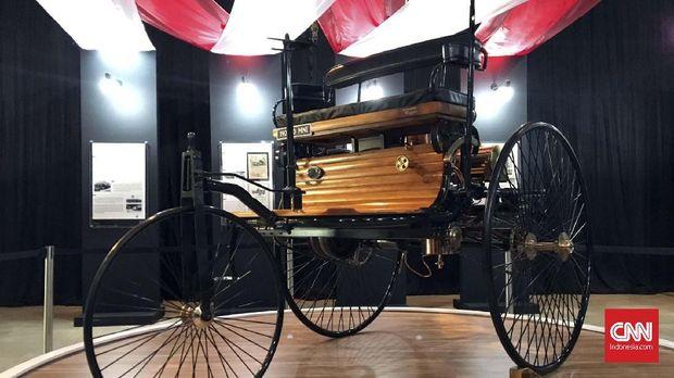 Titik Awal Sejarah Mobil, Dimulai dari Tiga Roda