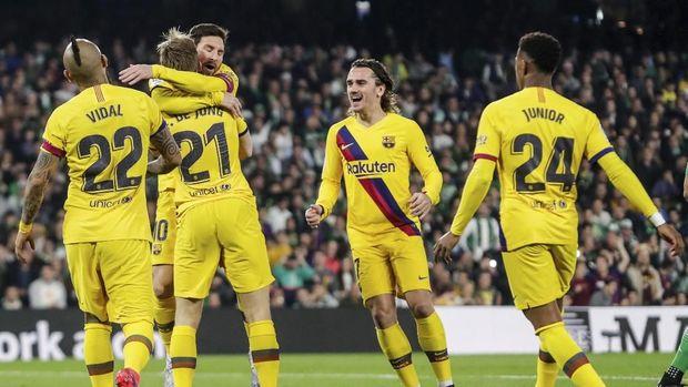 Lionel Messi dan kawan-kawan tengah menjalani karantina virus corona.