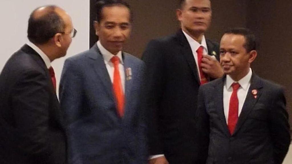 Momen Kepala BKPM, Bahlil Dampingi Jokowi di Canberra