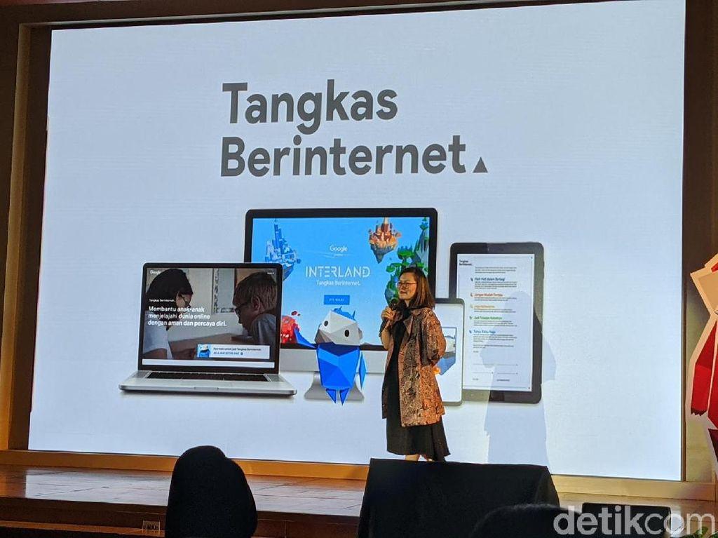 Google Dorong Literasi Digital Anak Lewat Tangkas Berinternet