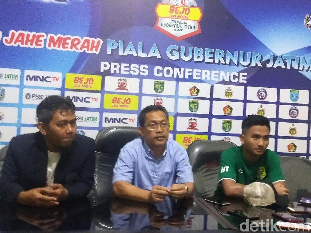 Tundukkan Persik, Persebaya Janji Maksimal di Piala Gubernur Jatim
