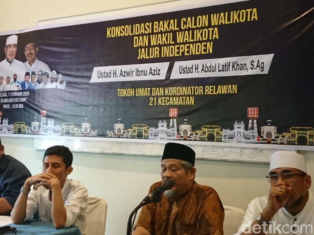 Koalisi Ormas Islam Medan Yakin Paslon Independen Kalahkan Bobby-Akhyar
