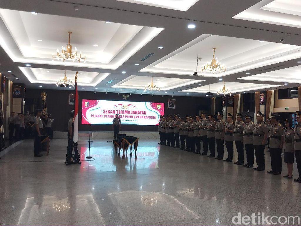 Kapolri Pimpin Sertijab 8 Kapolda dari Sulut hingga Aceh