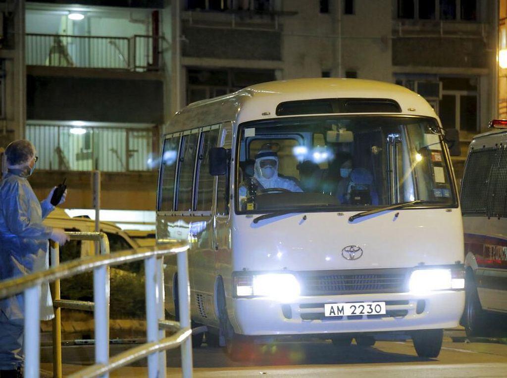 Ditemukan Kasus Corona, Penghuni Apartemen di Hong Kong Dievakuasi