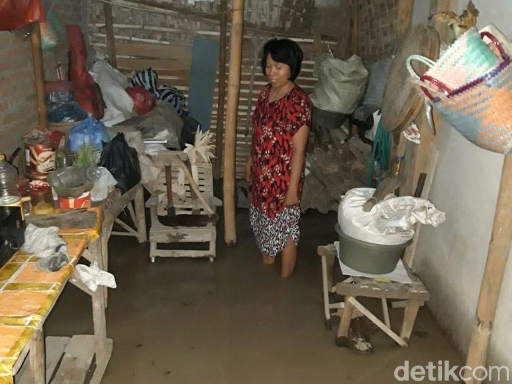 Bendungan Kedungbrubus Madiun Meluap, Puluhan Rumah Terendam Banjir