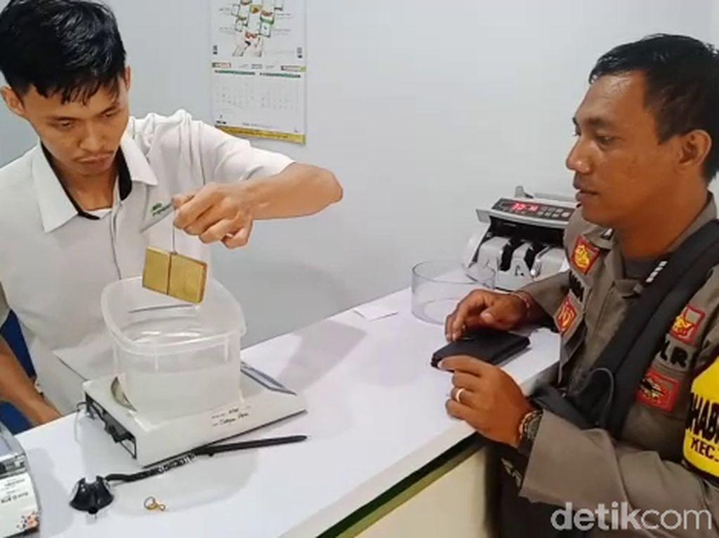 Emas Batangan Bergambar Sukarno di Jambi Ternyata hanya Kuningan