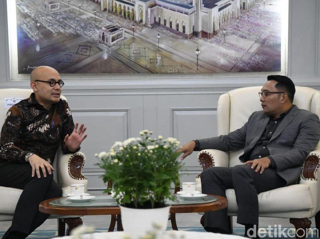 Ridwan Kamil Ajak Investor Prancis Bangun Rumah Sakit di Jabar