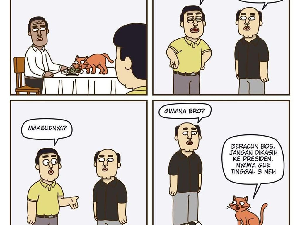 Komik Dimsum, Komik Strip Komedi Pelepas Dahaga