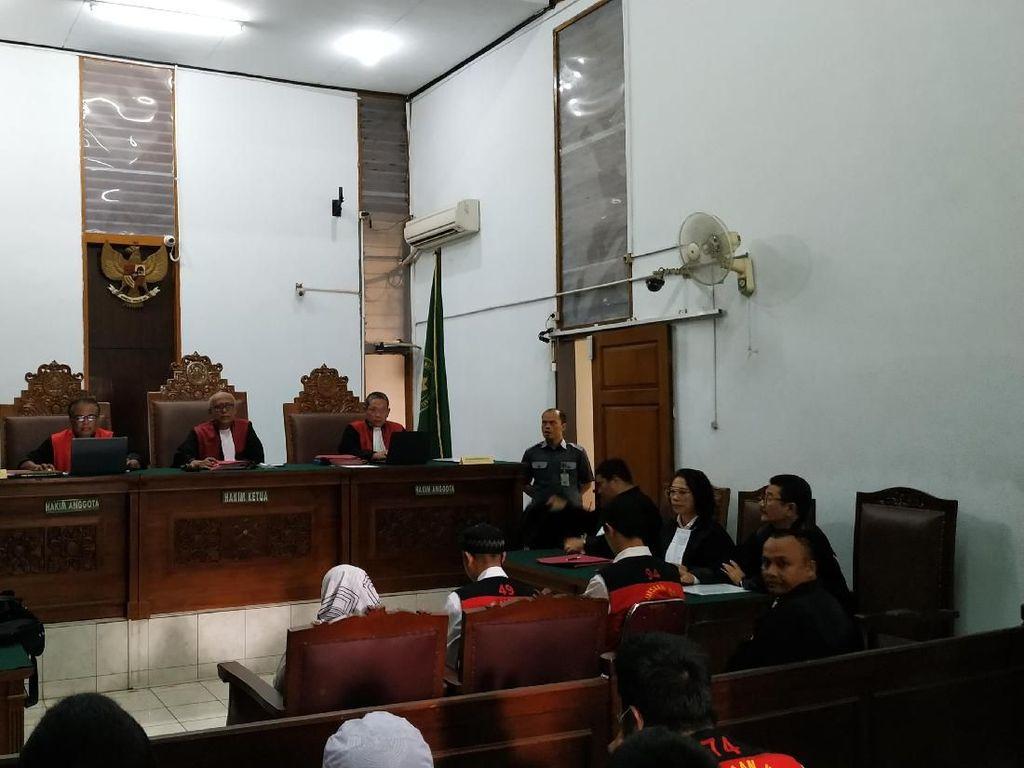 Pembantu Aulia Kusuma Didakwa Beri Sarana Pembunuhan Berencana