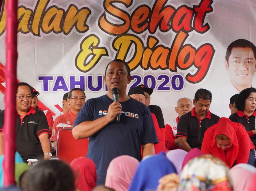 Walkot Hendi Imbau Pembangunan SemarangTetap Perhatikan Lingkungan