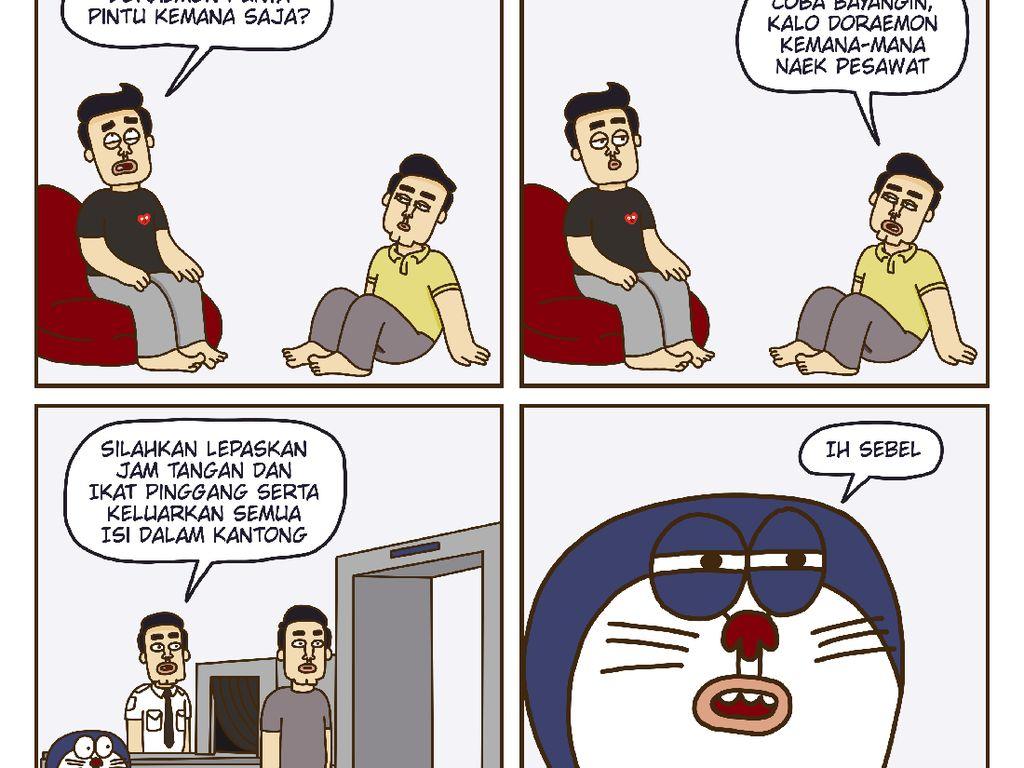 Komedi di Komik Dimsum Ajak Pembaca untuk Beropini