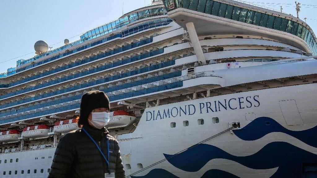 Penumpang Kapal Pesiar di Jepang Masih Dikarantina Terkait Corona