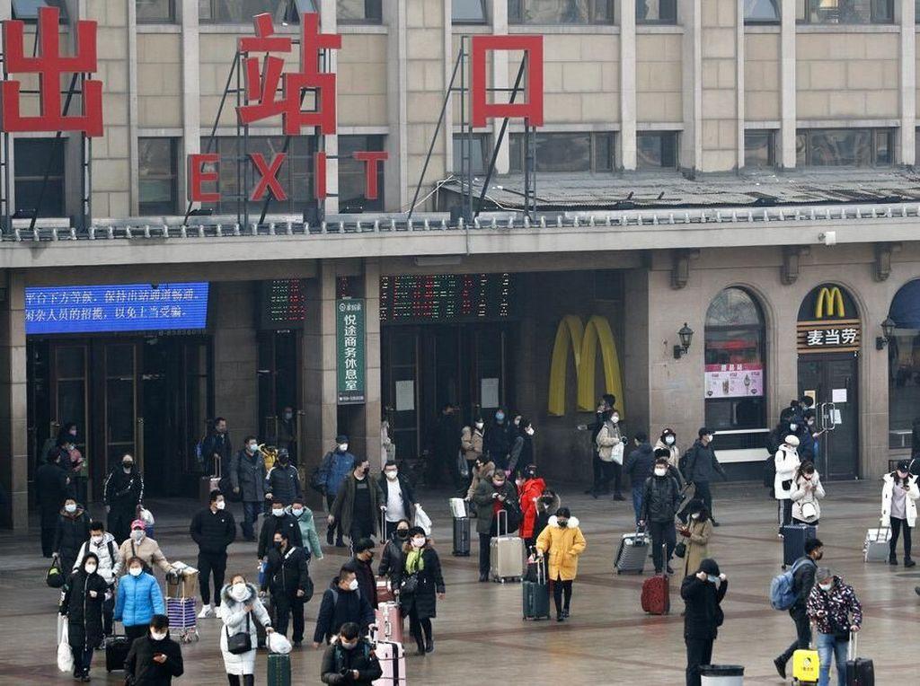 Perkantoran di China Hidup Lagi, Tapi Masih Waspada Corona