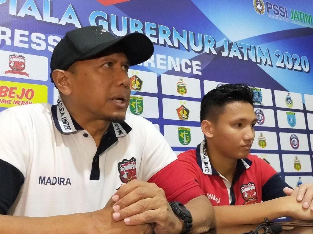Imbang Lawan Bhayangkara FC, Madura United Kurang Tenang Manfaatkan Peluang