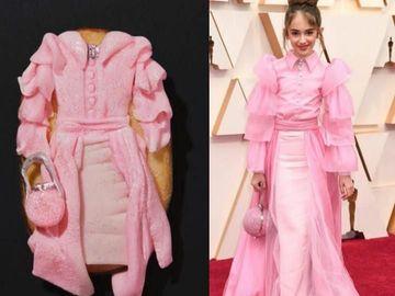 Kreatif Banget! 10 Biskuit Ini Berbentuk Gaun Artis Oscar 2020