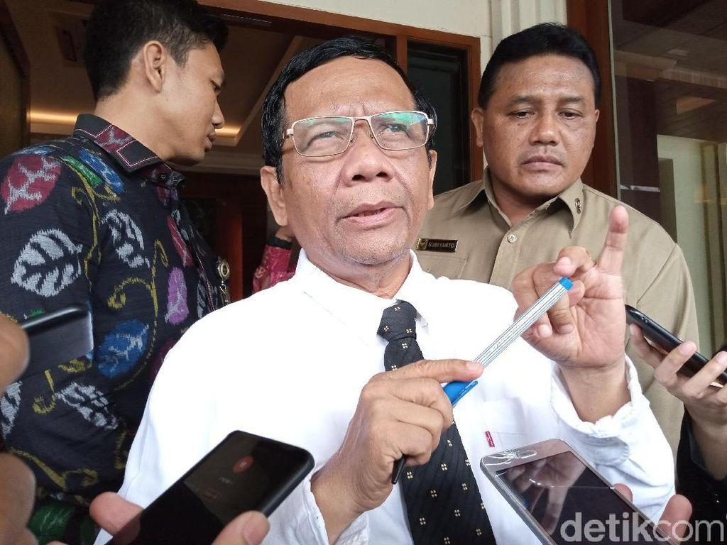 Soal Status WNI Eks ISIS, Mahfud: Pencabutan oleh Jokowi Lewat Proses Hukum