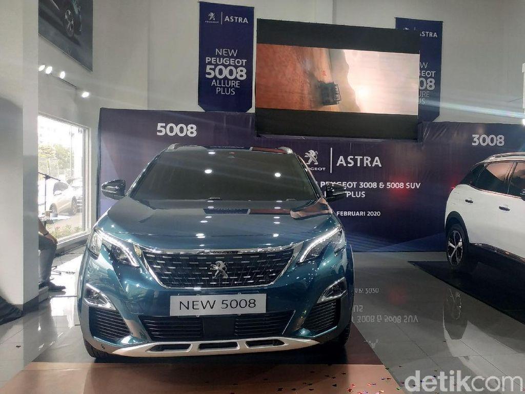 Peugeot Seri 3008 dan 5008 yang Lebih Murah Meluncur di Indonesia