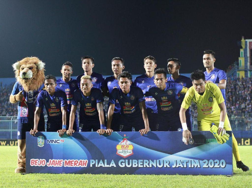 Arema FC Vs Sabah FA: Singo Edan Menang 2-0