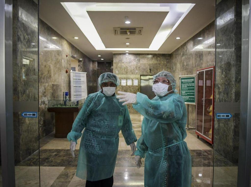 Penampakan Lab Kemenkes Tempat Spesimen Suspek Virus Corona Diuji