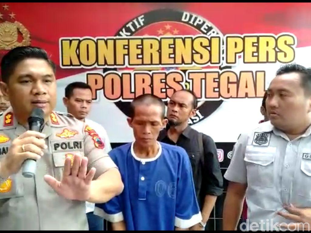 Incar ABG di Tegal, Begal Payudara Sadis Ditangkap Polisi