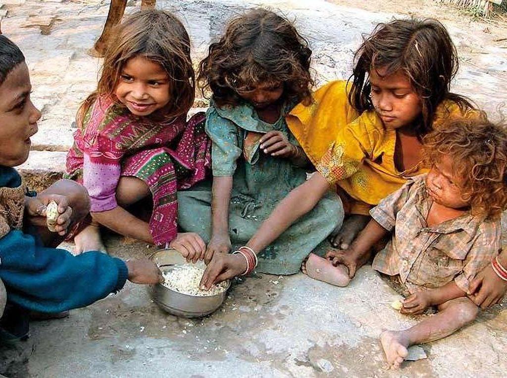 Miris! 5 Kisah Anak-anak Kelaparan dan Kurang Gizi di India