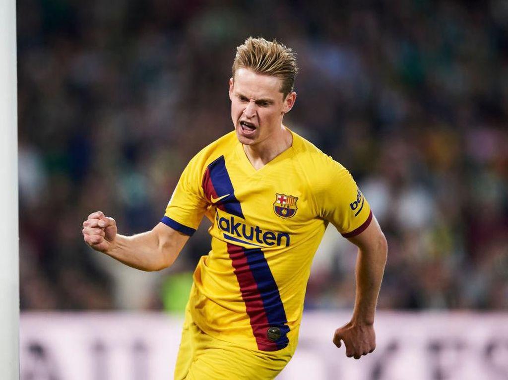 De Jong Dianggap Sukses di Barcelona, De Ligt Disebut-sebut