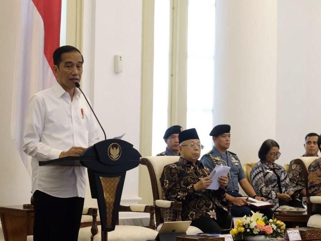 Jokowi Endus Pemborosan Anggaran Data Center di Instansi Pemerintah
