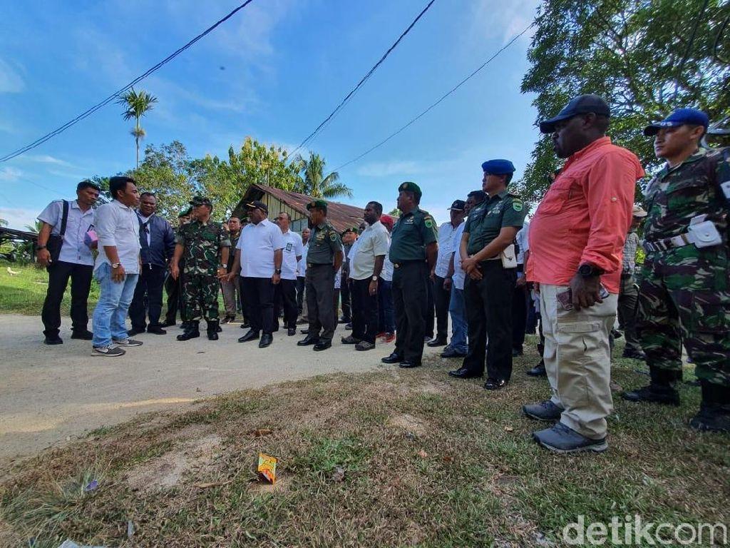 Temui Prajurit Korem 181/Sorong, Wamen PUPR Janjikan Bangun Rusun