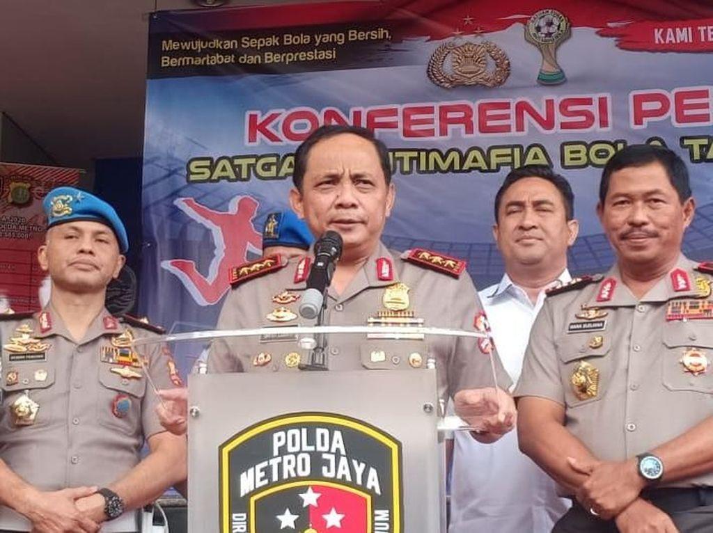 Video Satgas Anti Mafia Bola Bakal Berkolaborasi dengan POM TNI
