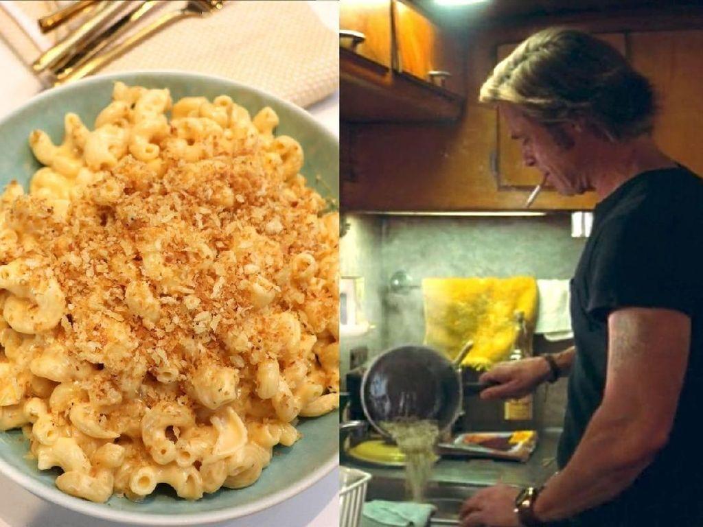 Cara Membuat Mac and Cheese Ala Brad Pitt yang Baru Raih Oscar