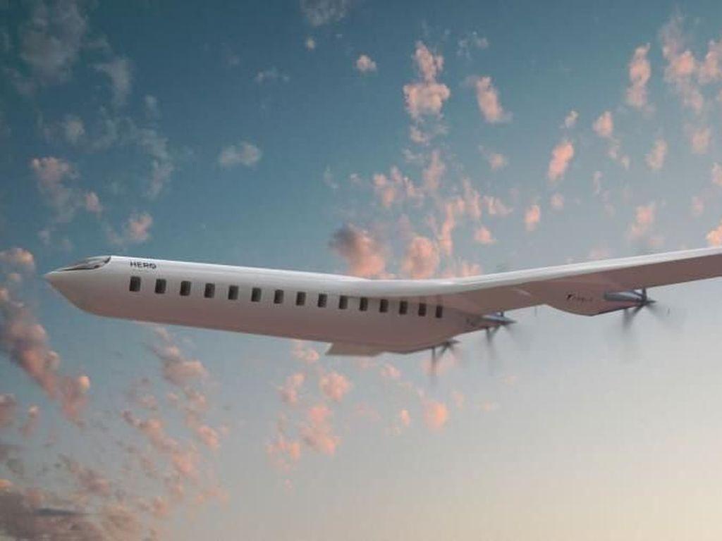 Pesawat Bersayap di Ekor Ini Dijamin Ramah Lingkungan