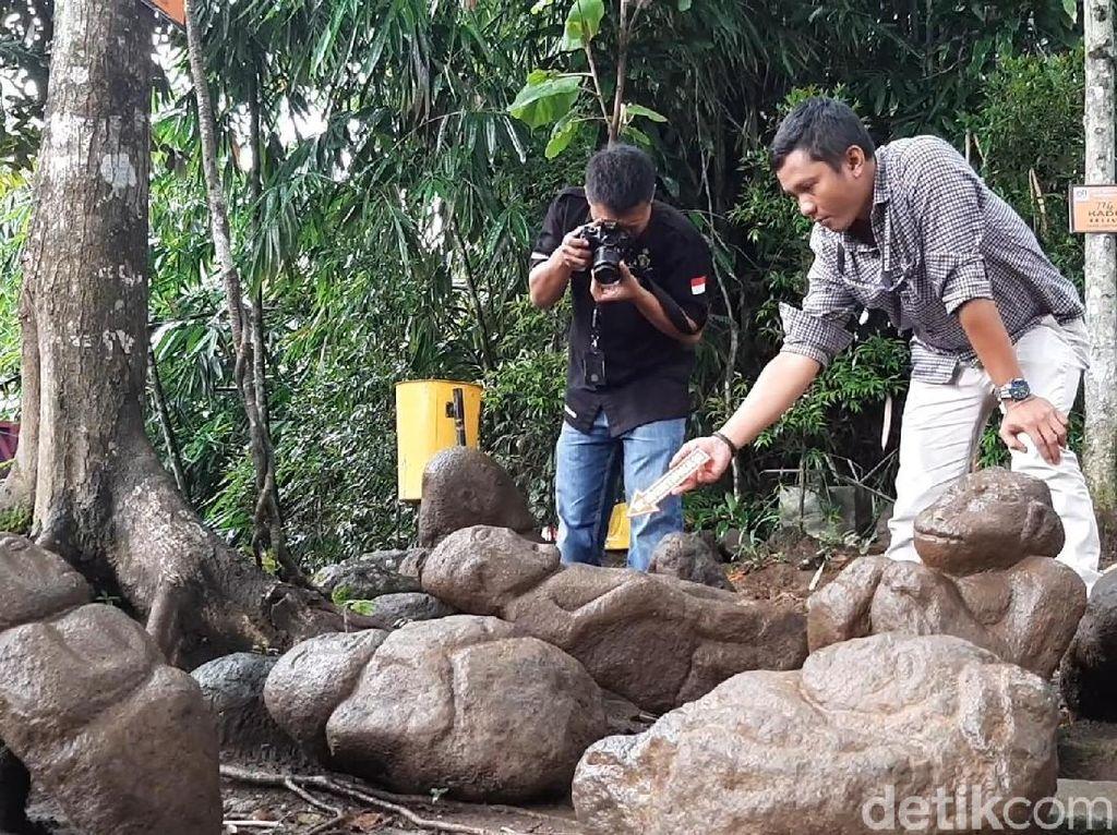 Arkeolog Sebut Patung Monyet-Ganesa di Batu Mahpar Bukan Artefak