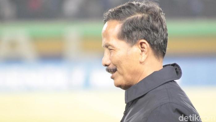 Pelatih Barito Putera Djadjang Nurdjaman