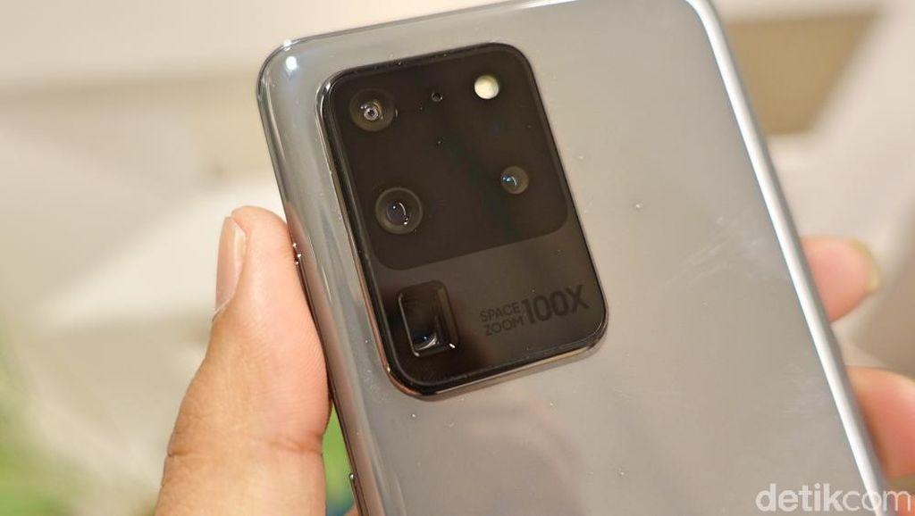Wujud Galaxy S20 Ultra, Ponsel yang Punya Kemampuan Zoom 100x