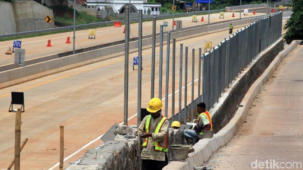 Pembangunan Ruas Tol Serpong-Cinere Terus Dikebut