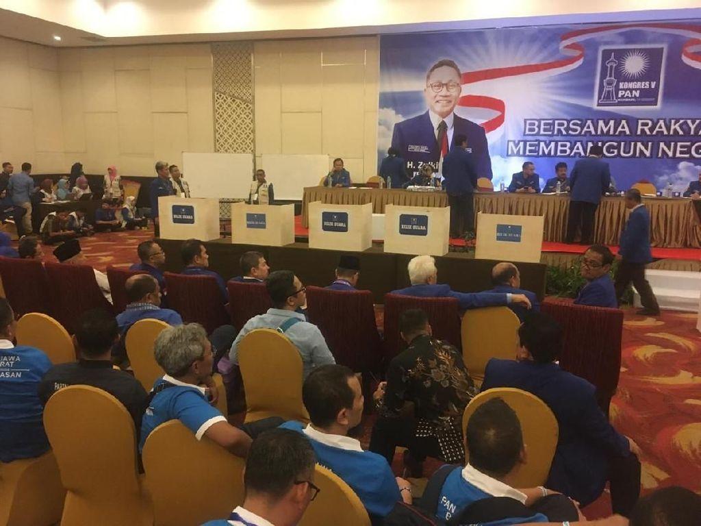 Kongres PAN Masuk Tahap Pemilihan Caketum, 5 Bilik Suara Disiapkan