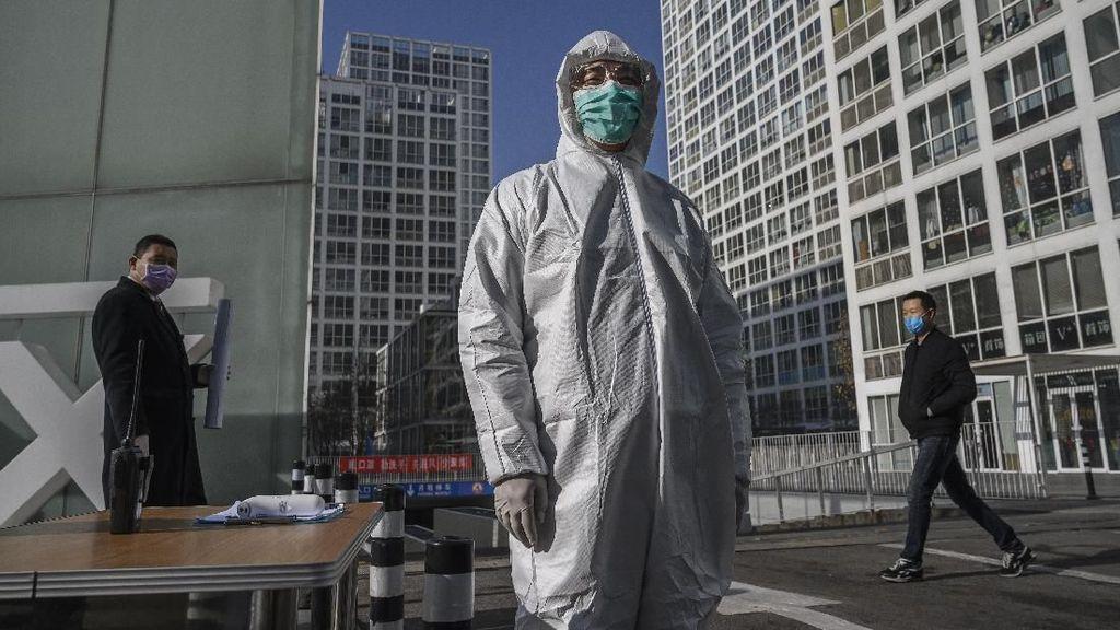 Kematian Infeksi Corona di China Tembus 100 Orang Per Hari