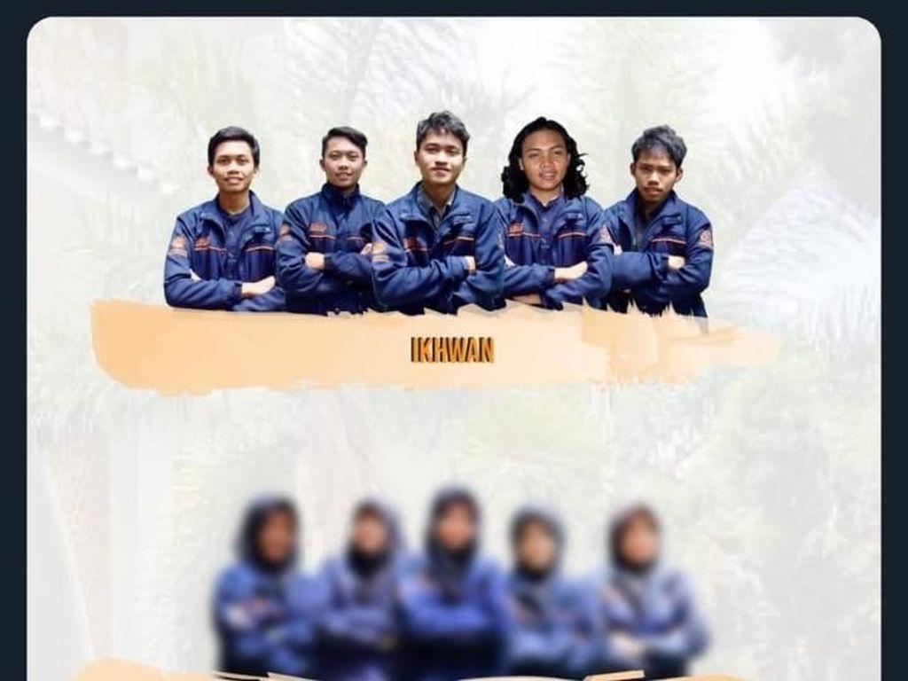 Heboh Foto Mahasiswi Pengurus Lembaga Dakwah di UGM, Haruskah Diblur?