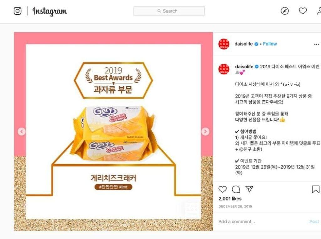 Wah, Snack Asal Indonesia Ini Menang Penghargaan dari Korea!