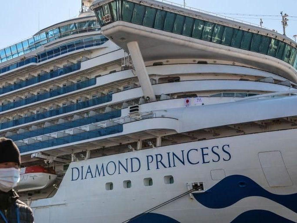 Virus Corona Mampu Bertahan 17 Hari di Kapal Pesiar Diamond Princess